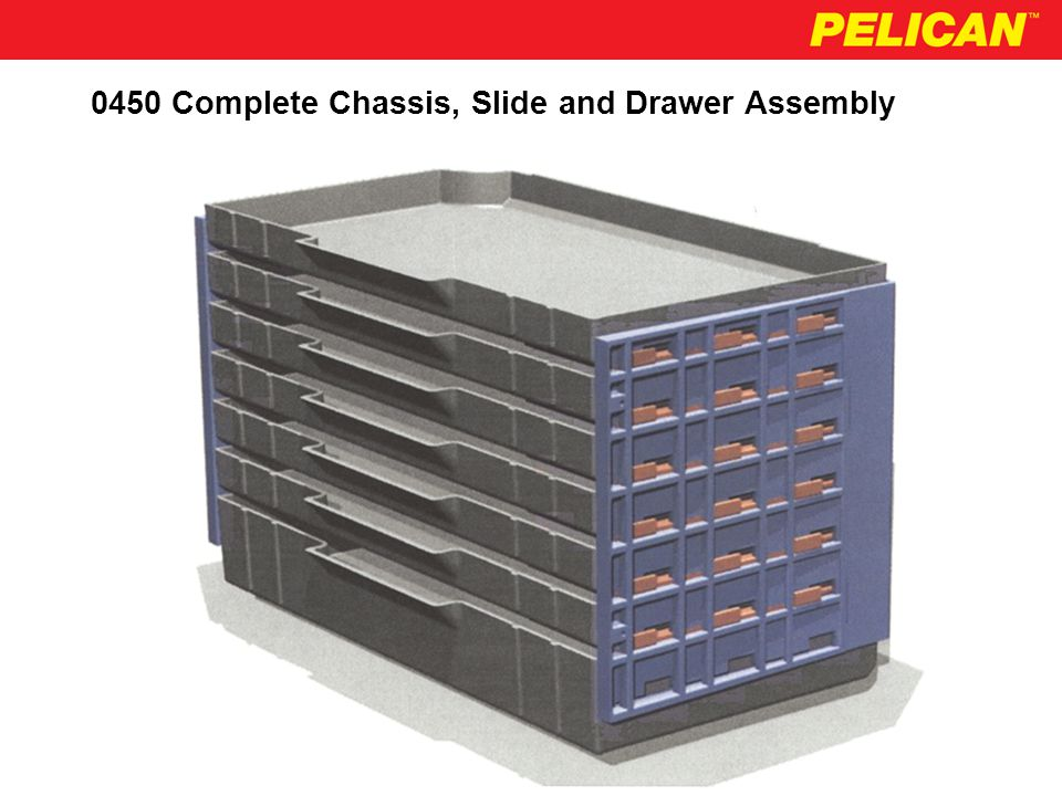 0450 Optional Drawer Configurations Available