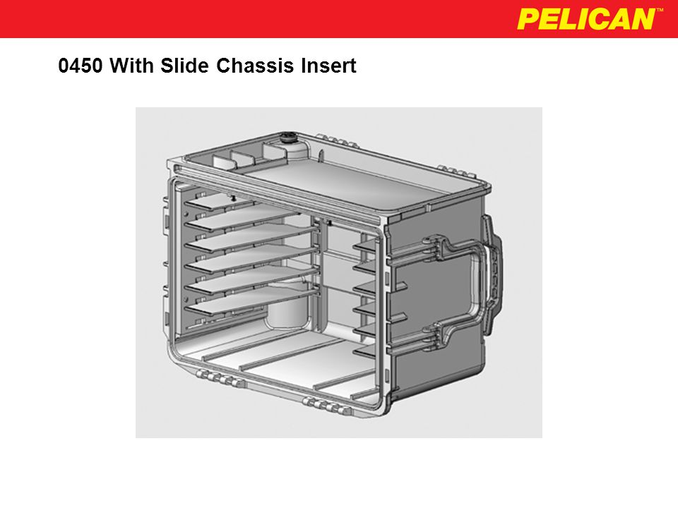 0450 Schematic - Top View With Slide Chassis Insert 10.85 20.20 (No Draft) Removable Slides Chassis Frame