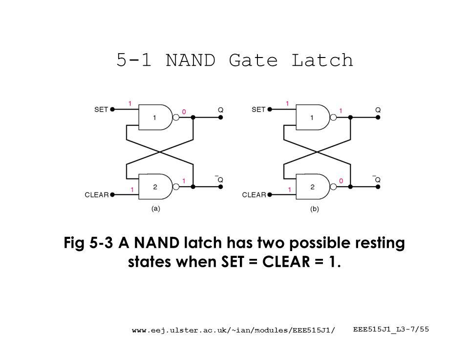 www.eej.ulster.ac.uk/~ian/modules/EEE515J1/ EEE515J1_L3-48/55 5-23 Analyzing Sequential Circuit Ex.