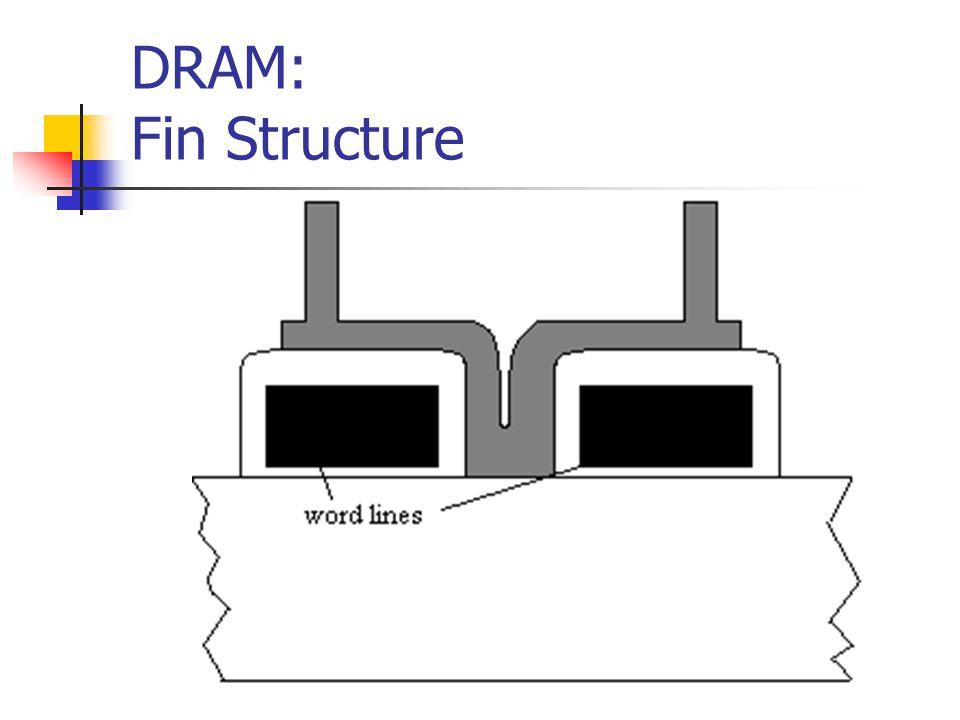 DRAM: Fin Structure