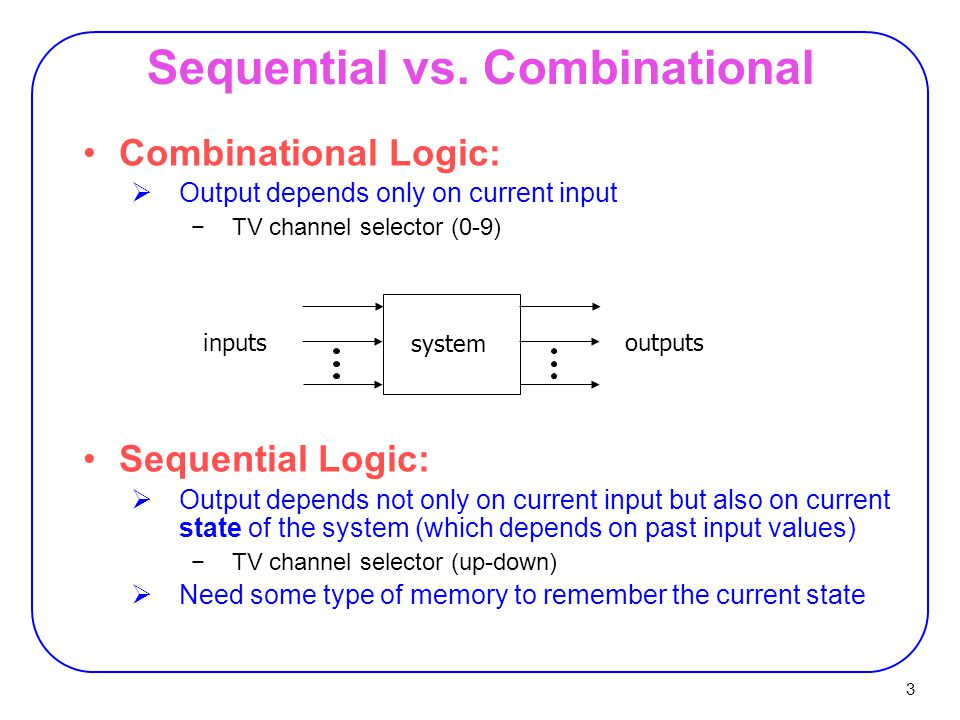 3 Sequential vs.