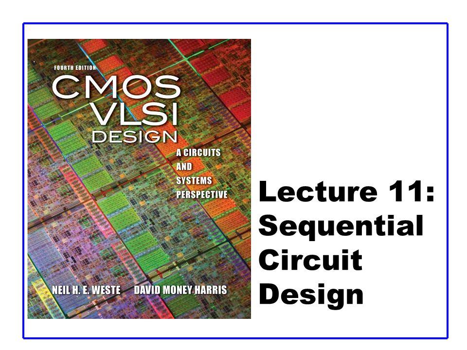 CMOS VLSI DesignCMOS VLSI Design 4th Ed. Conventional CMOS Latches 11: Sequential Circuits42