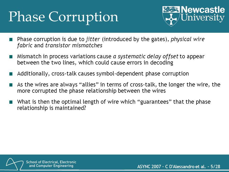 ASYNC 2007 - C D Alessandro et al. - 16/28 MUTEX-based