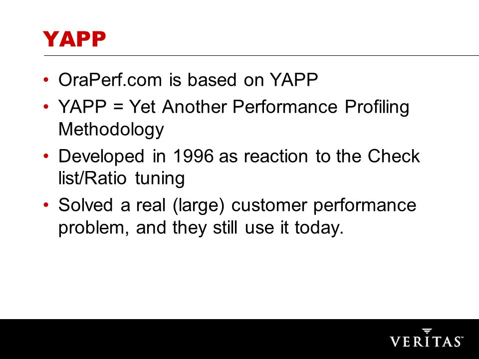So what is YAPP.