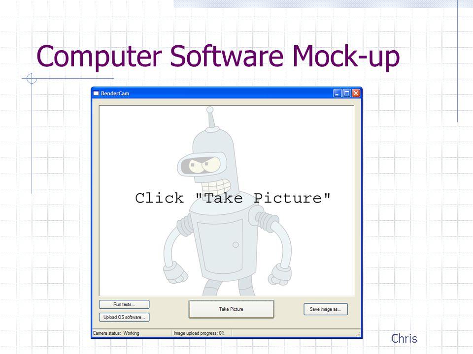 Computer Software Mock-up Chris