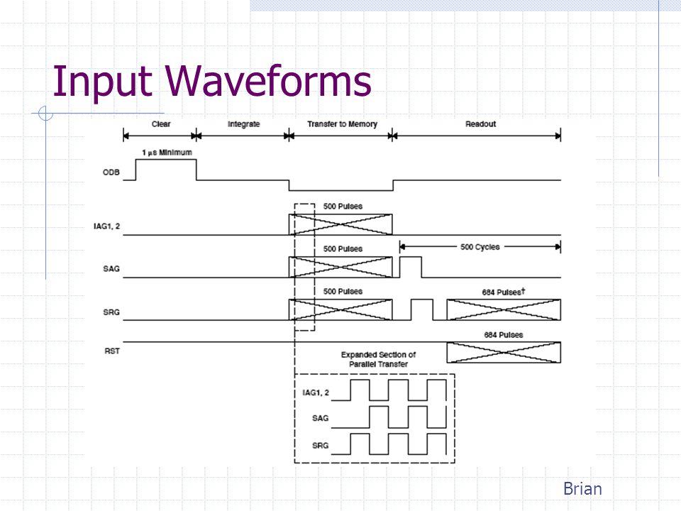 Input Waveforms Brian