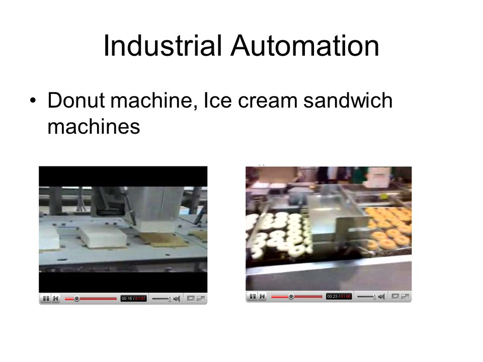 Industrial Automation Donut machine, Ice cream sandwich machines