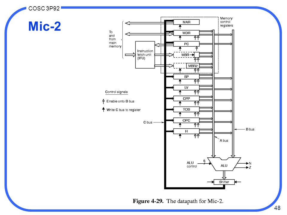 48 COSC 3P92 Mic-2