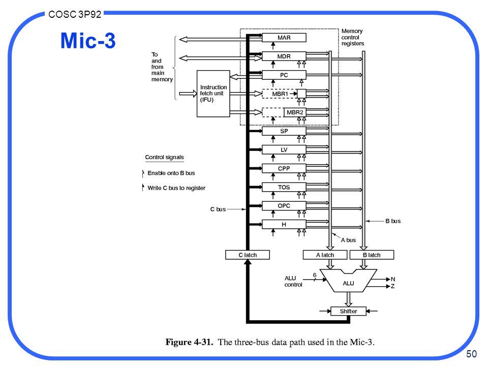 50 COSC 3P92 Mic-3