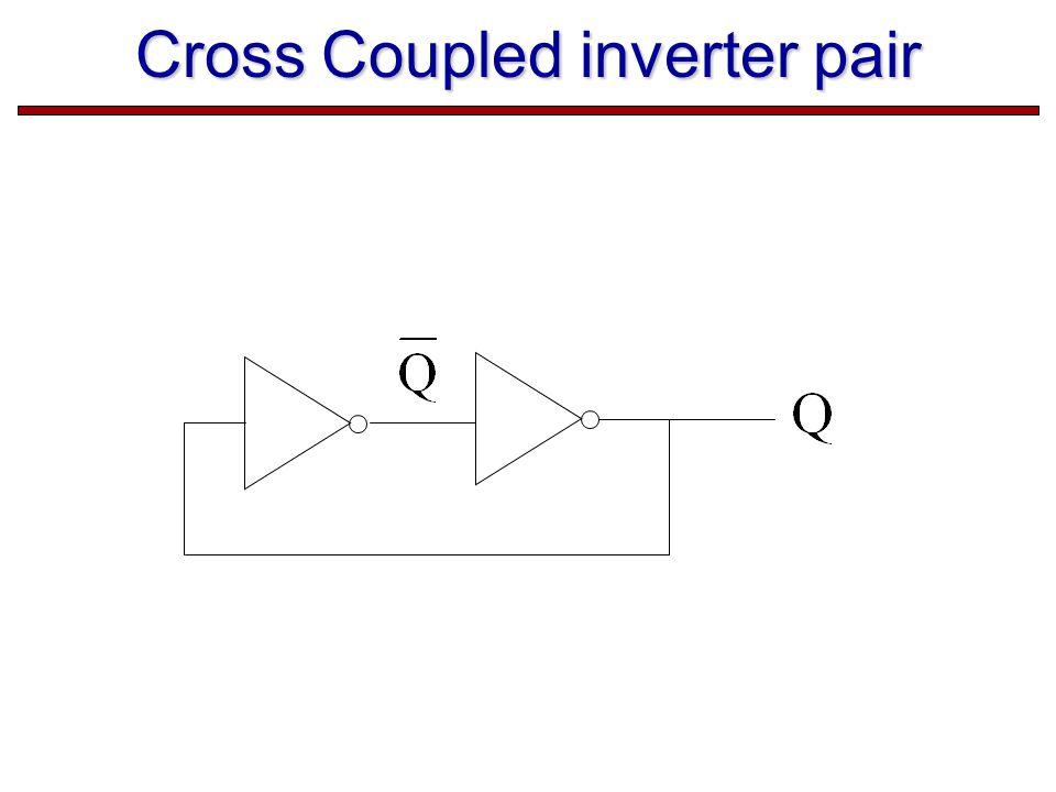 Cross Coupled inverter pair