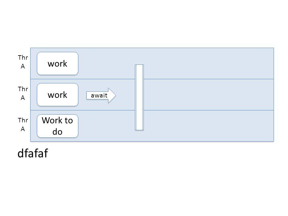 dfafaf work Thr A work Thr A Work to do Thr A await