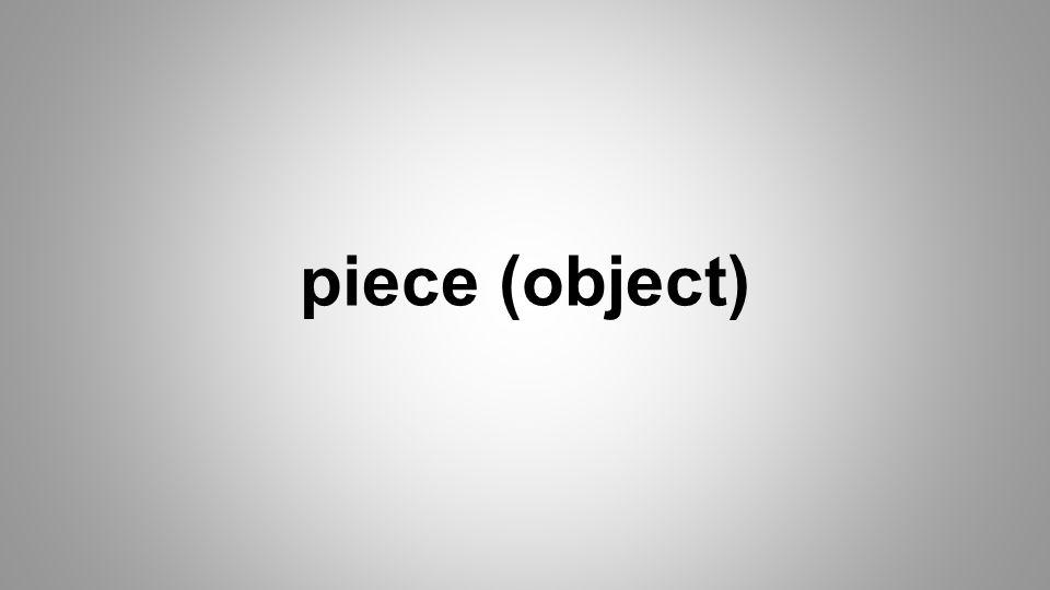 piece (object)