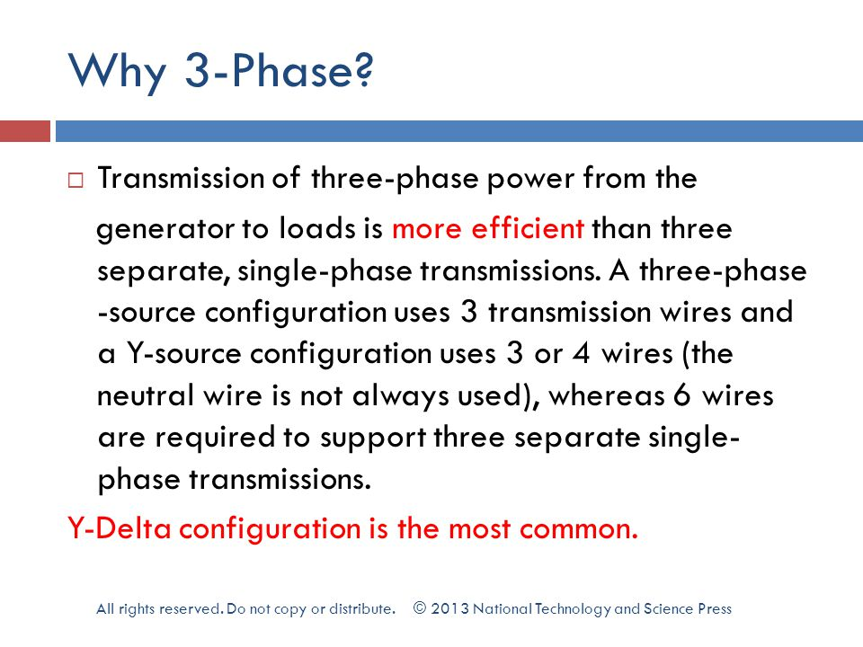 Why 3-Phase.