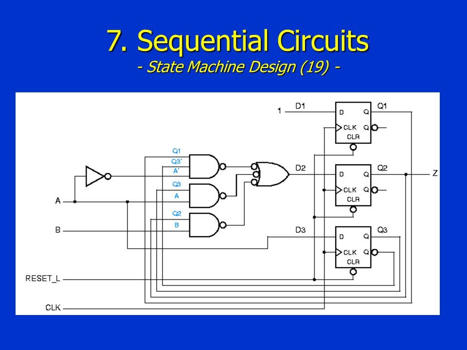 7. Sequential Circuits - State Machine Design (19) -