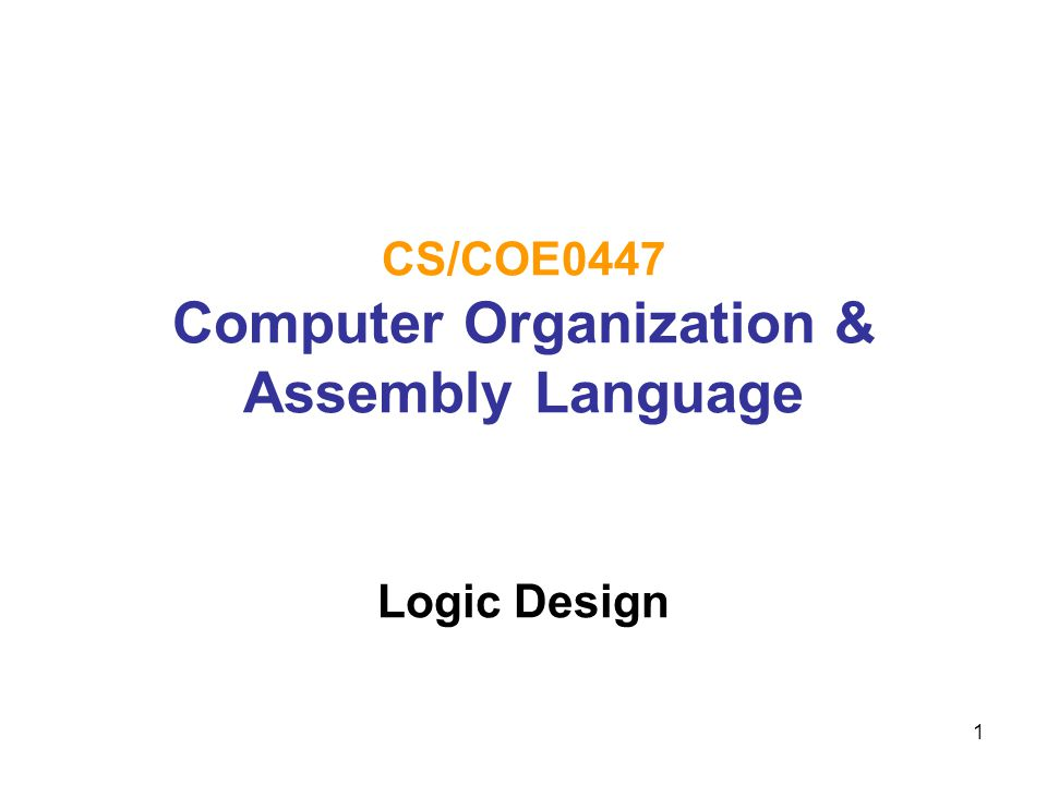 12 Implementing Combinational Logic Any combinational logic can be implemented using sum of products or product of sums Input-output relationship can be defined in a truth table From a truth table, each output function can be derived Boolean expressions can be further manipulated using various Boolean algebraic principles