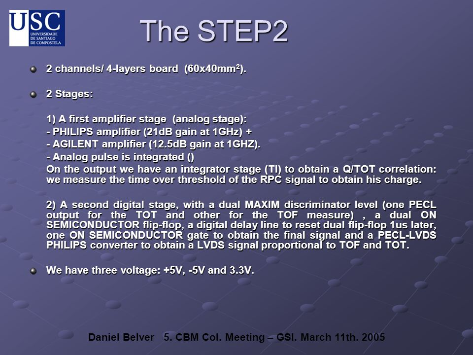 The STEP2 2 channels/ 4-layers board (60x40mm 2 ).