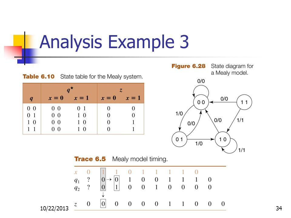 10/22/201334 Analysis Example 3