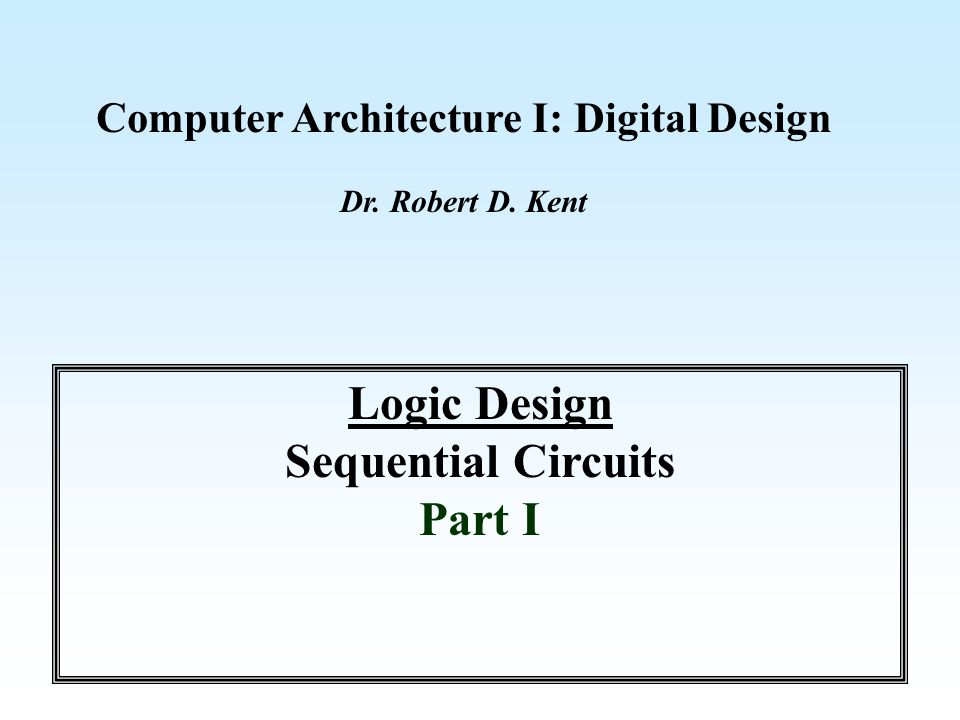 Review We have studied logic design in the contexts of Medium Scale Integration (MSI) of gate devices and programmable logic devices (PLD).