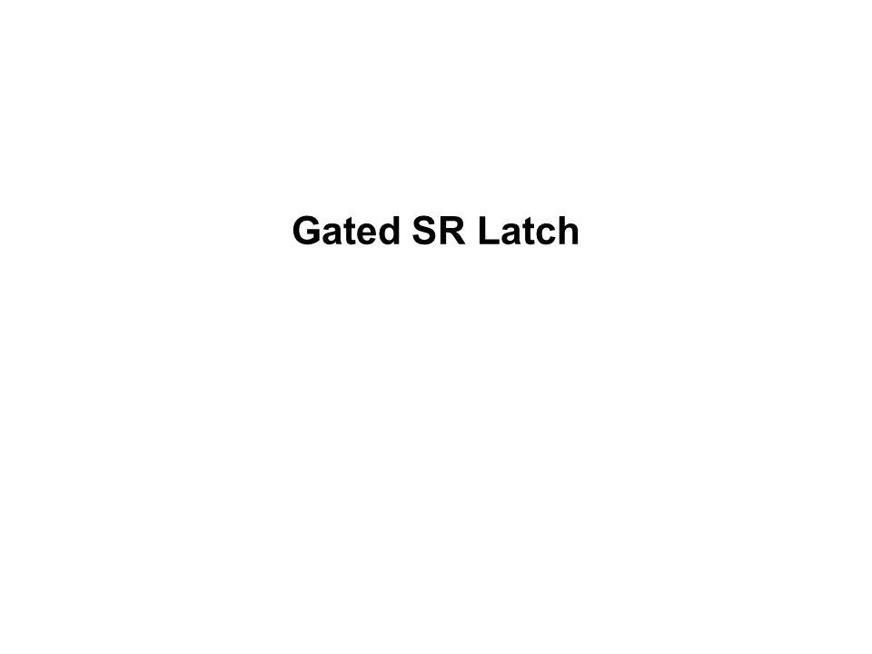 Gated SR Latch