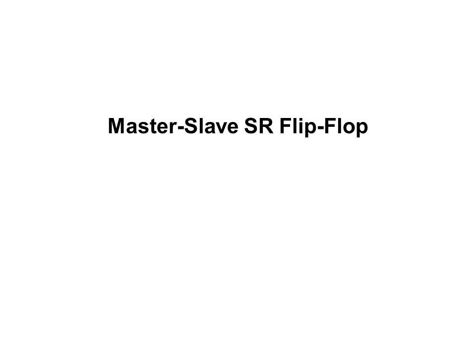 Master-Slave SR Flip-Flop