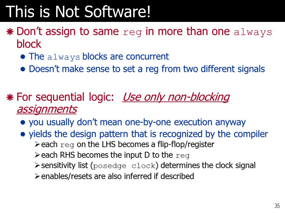 This is Not Software.