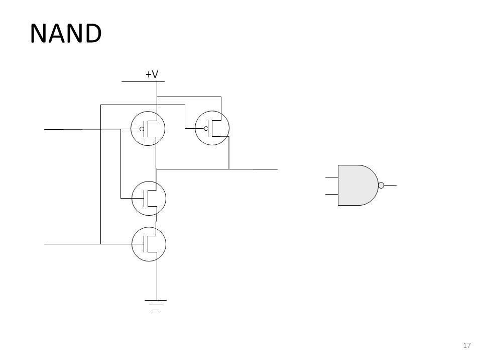 NAND 17 +V