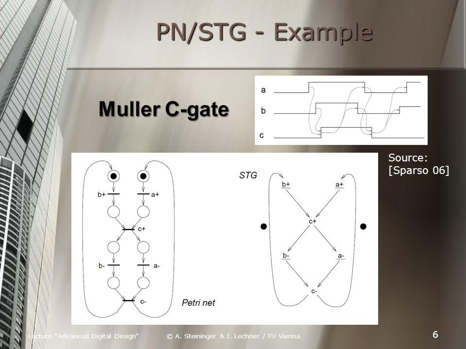 Lecture Advanced Digital Design © A.Steininger & J.