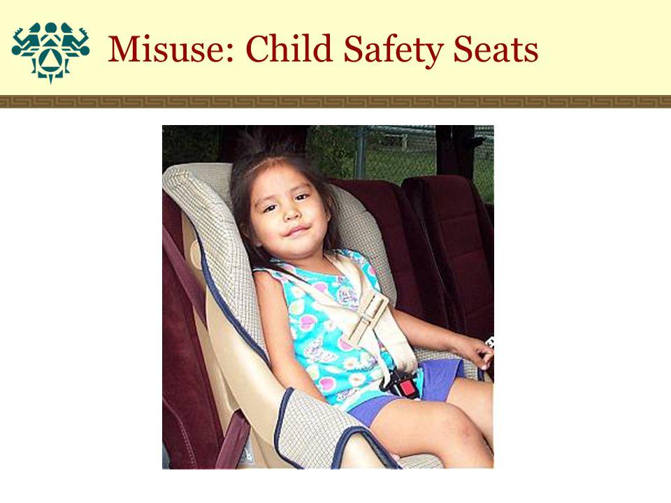 Misuse: Child Safety Seats