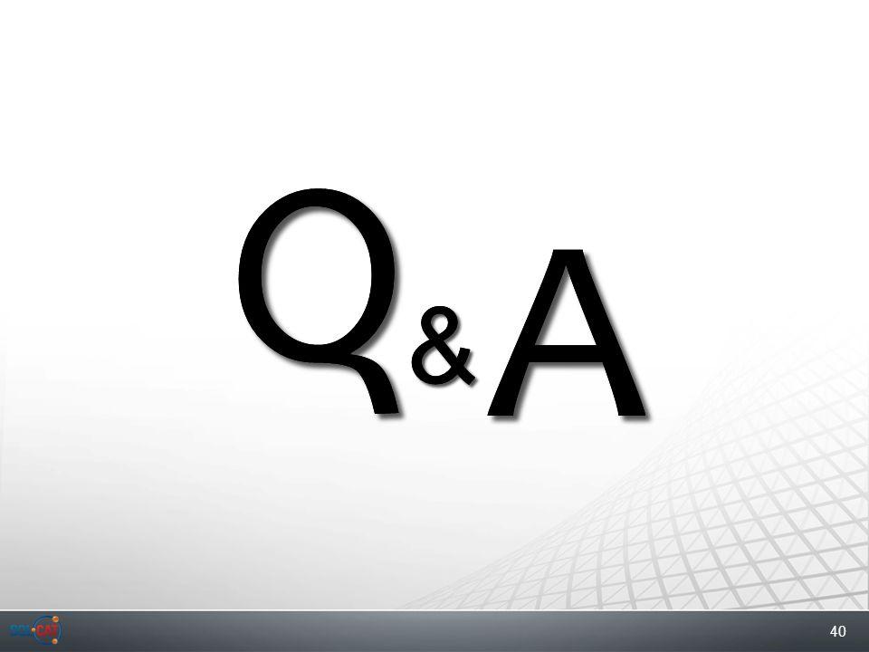 40 Q A & Q A &