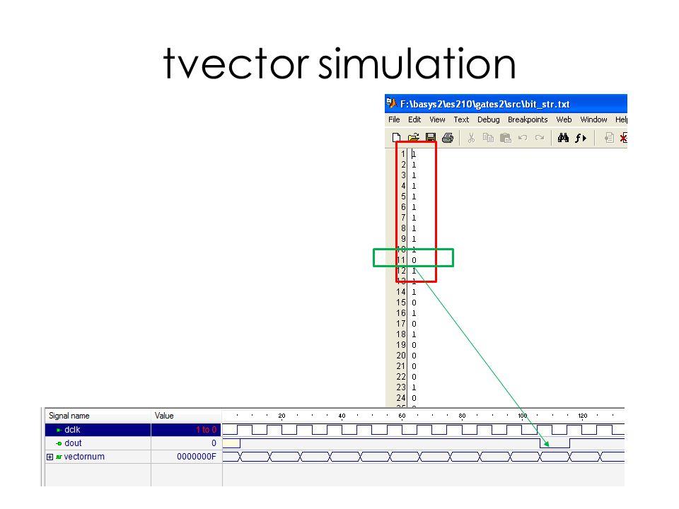 tvector simulation
