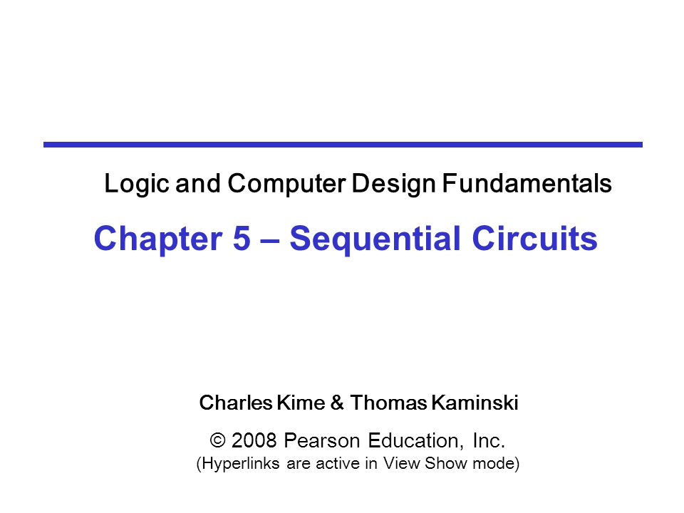 5-4 Sequential Circuit Analysis  Consider the following circuit:  What does it do.