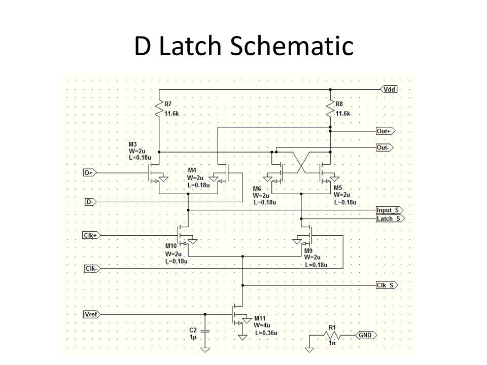 D Latch Schematic