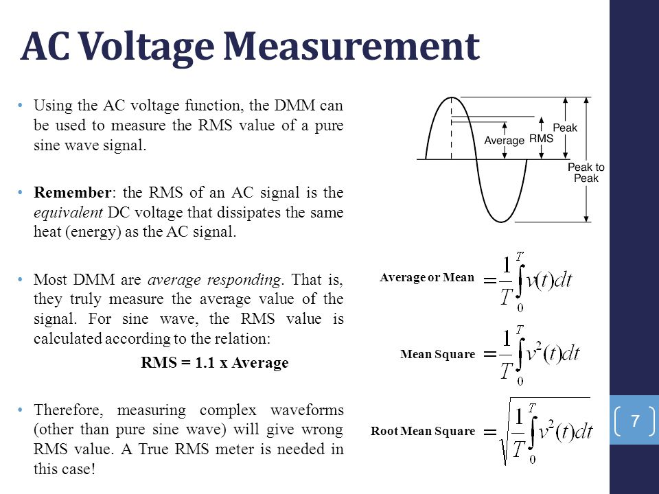 Current measurements Current measurement is the most potentially hazardous measurement made with a multimeter because the meter now is a part of the circuit.