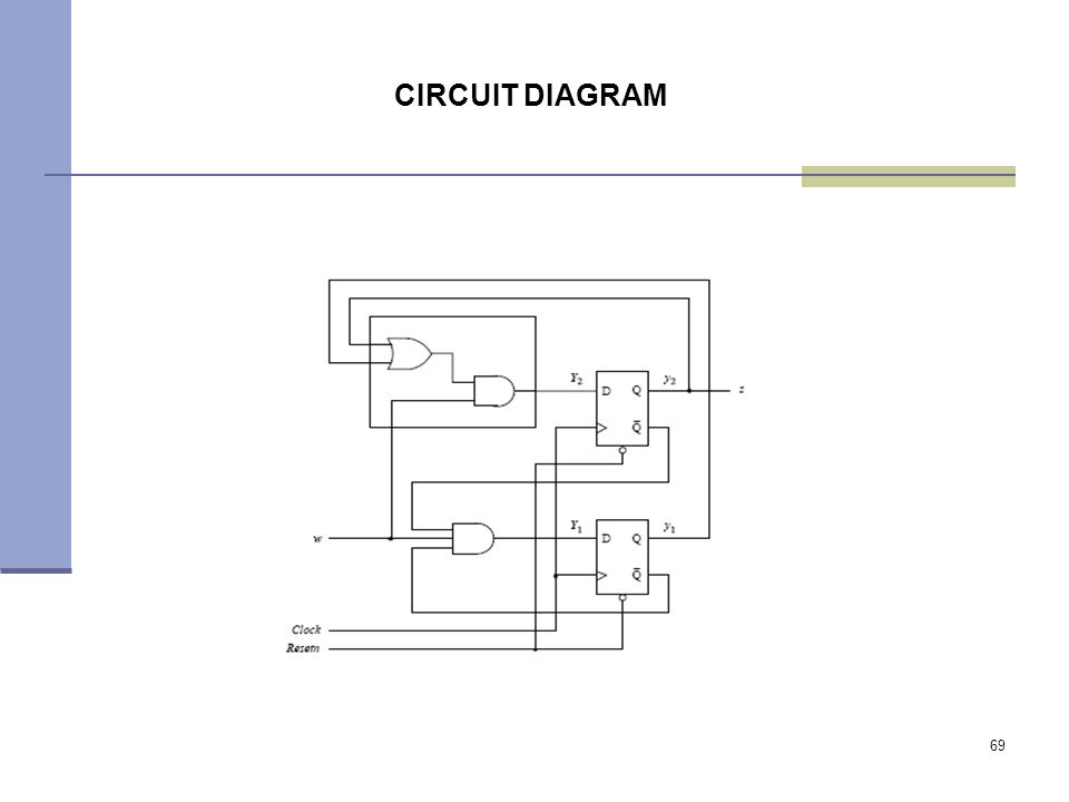 69 CIRCUIT DIAGRAM