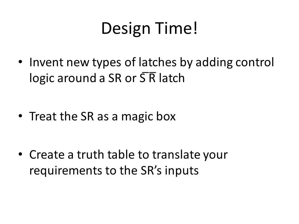 Design Time.