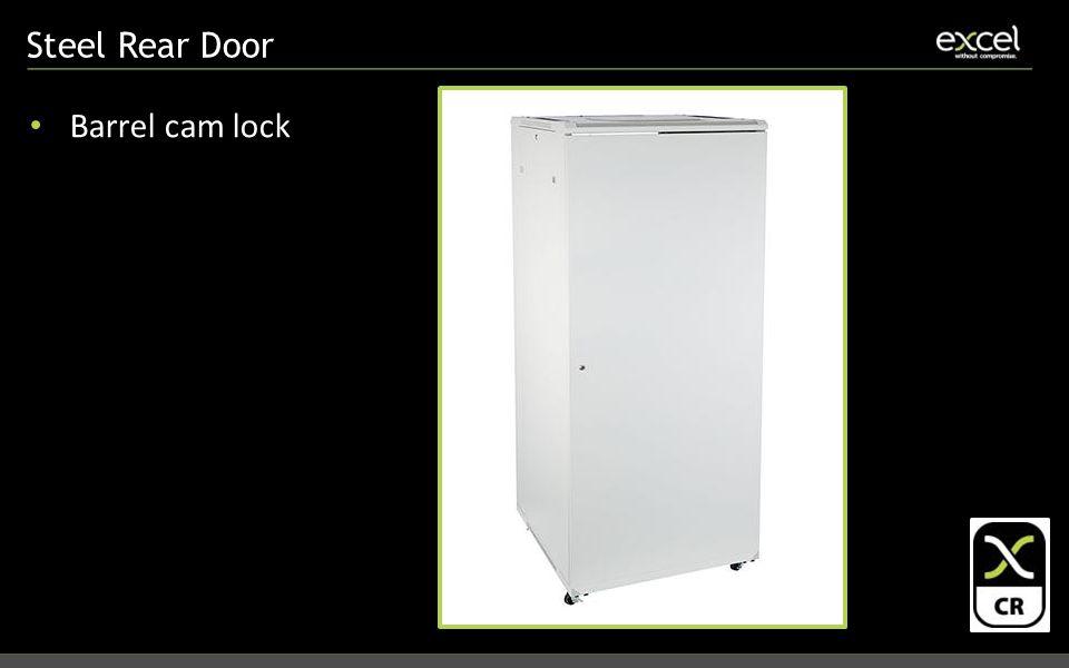 Steel Rear Door Barrel cam lock