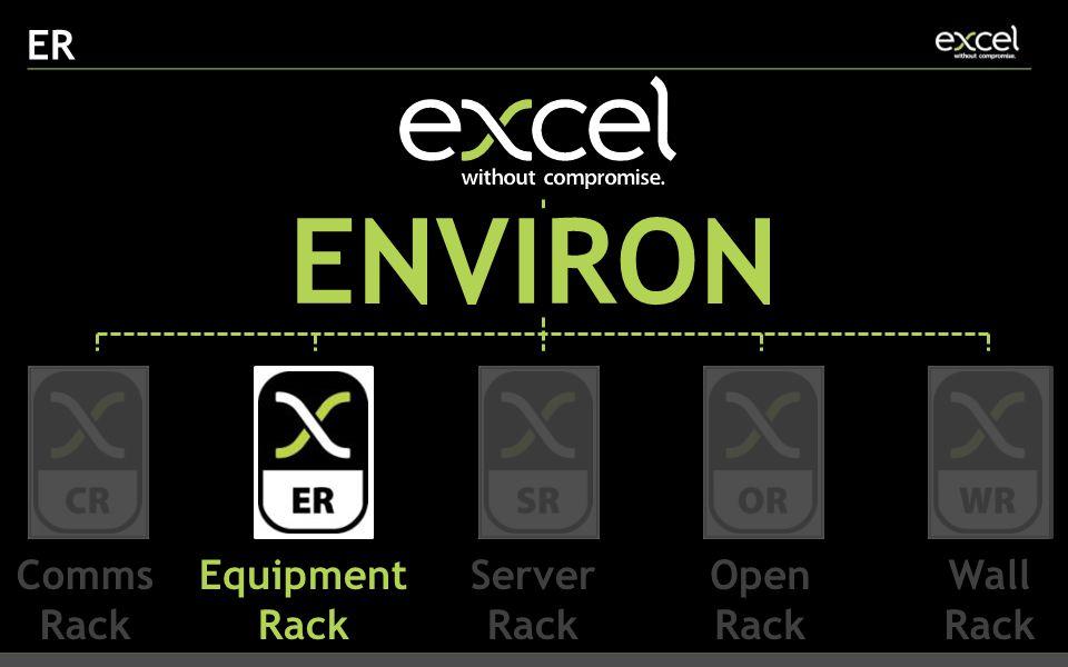 ER ENVIRON Comms Rack Equipment Rack Server Rack Open Rack Wall Rack