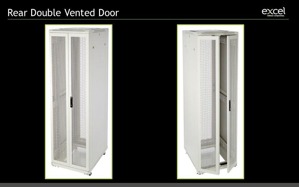 Rear Double Vented Door