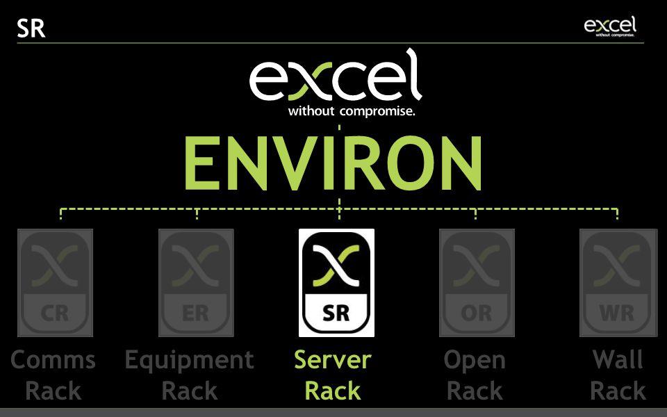 SR ENVIRON Comms Rack Equipment Rack Server Rack Open Rack Wall Rack
