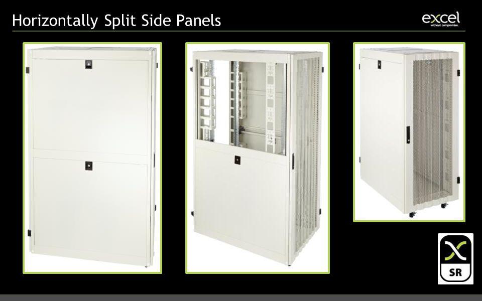 Horizontally Split Side Panels