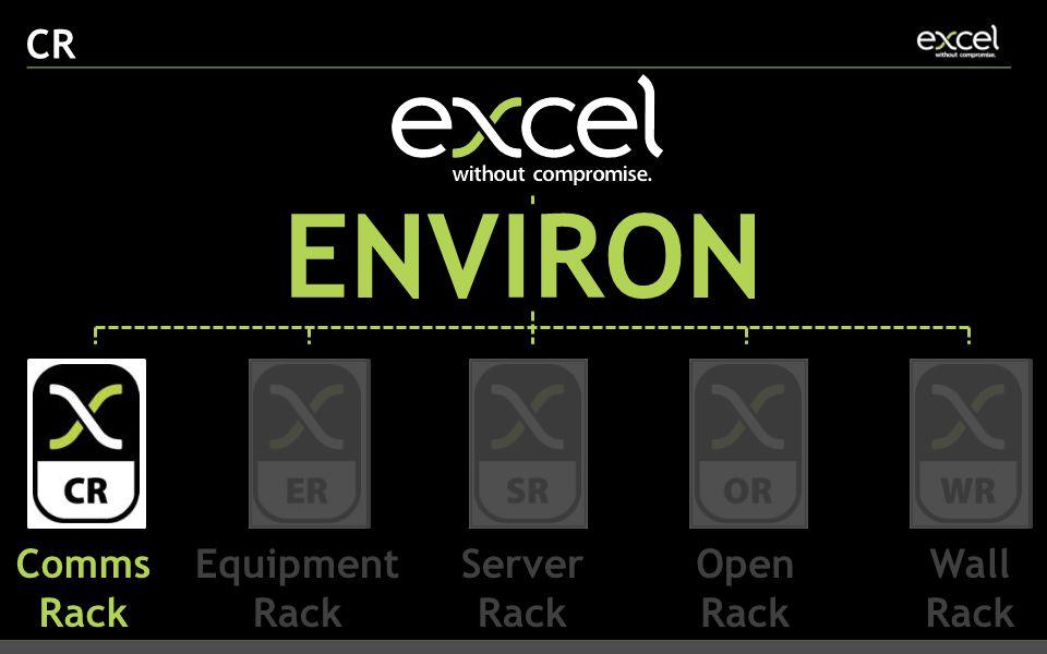 CR ENVIRON Comms Rack Equipment Rack Server Rack Open Rack Wall Rack