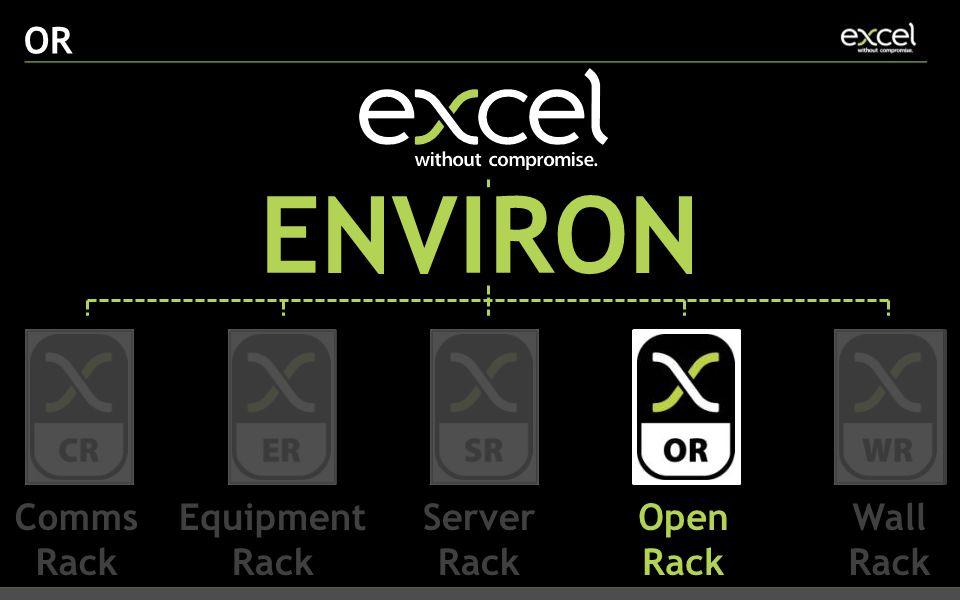 OR ENVIRON Comms Rack Equipment Rack Server Rack Open Rack Wall Rack