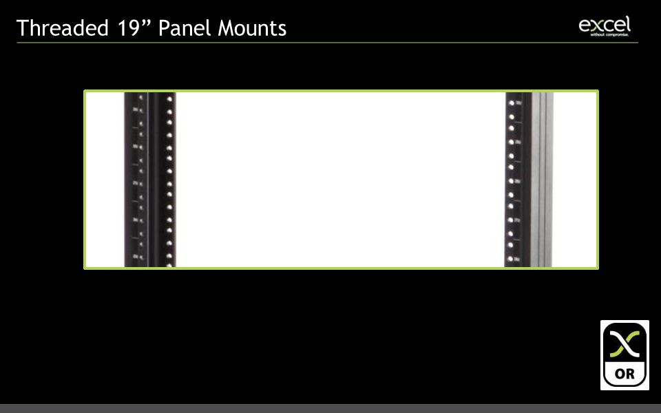 Threaded 19 Panel Mounts