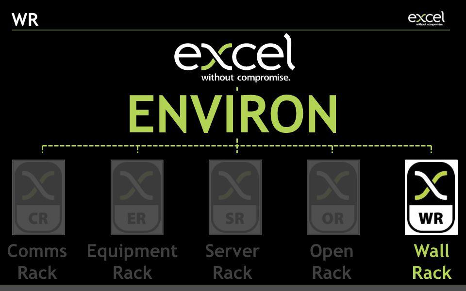 WR ENVIRON Comms Rack Equipment Rack Server Rack Open Rack Wall Rack