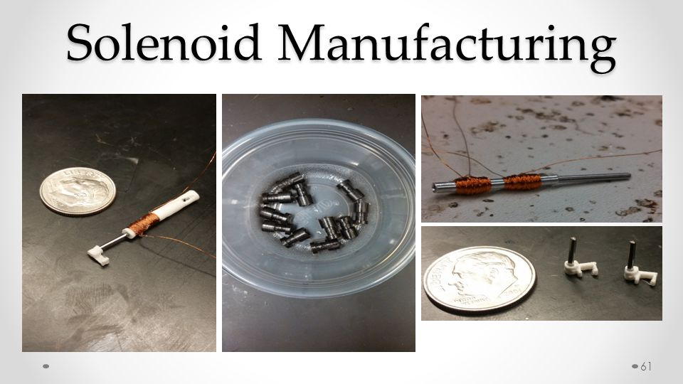 61 Solenoid Manufacturing