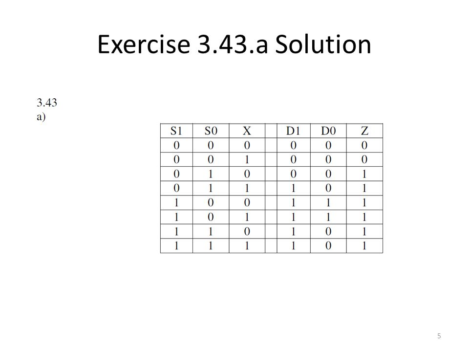 Exercise 3.43.b Solution 6