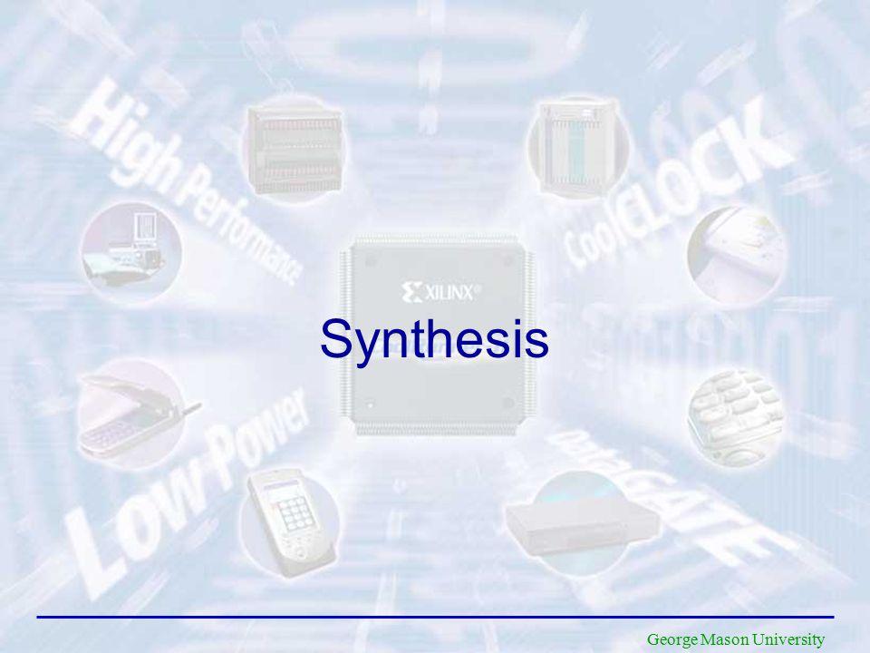 George Mason University Synthesis