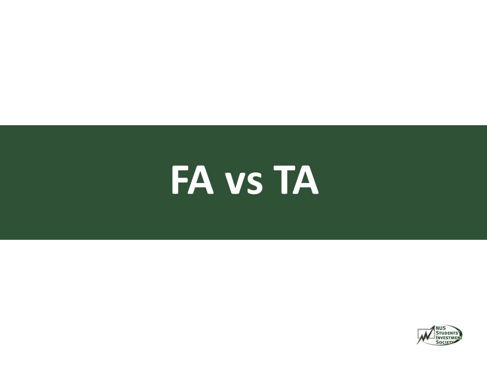 FA vs TA
