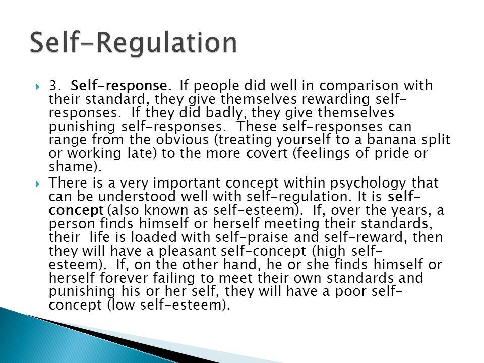  3. Self-response.