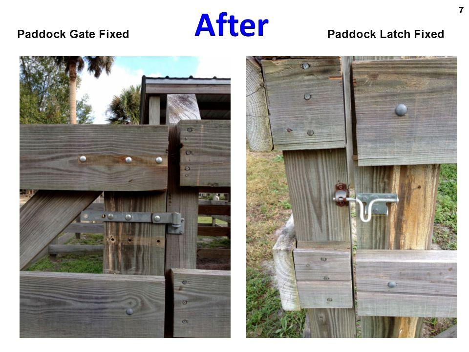 Paddock Latch FixedPaddock Gate Fixed 7